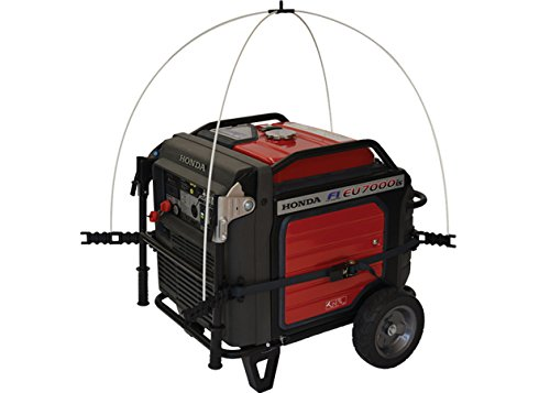 GenTent 10K Generator Tent Running Cover - XKU Kit (Standard, TanLight) - Compatible with 3000w+ Inverter Generators by GenTent Safety Canopies (Image #1)