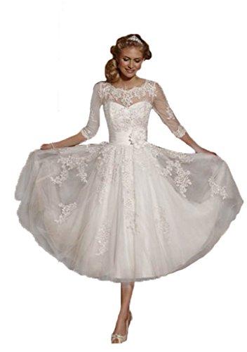 Buy beautiful short wedding dresses - 7