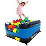 Sinolodo Inflatable Foam Pit for Gymnastics Jumping, Ball Pit for Party Rental