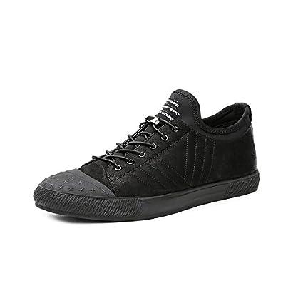 fd56f60023964 Amazon.com : Hasag Men'S Shoes Summer Men'S Black Breathable Casual ...