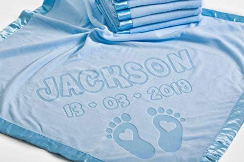 PERSONALISED Baby Blanket ARABIC Pram Cot Boys Girls ANY NAME New Gift
