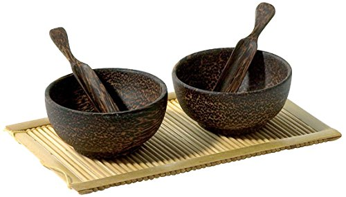 Front of the House DSD007PWW63 Round Dish & Spoon Set, 2....