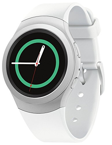 "Samsung Gear S2 Android Smartwatch w/ 1.2"" Rotating Bezel Display - White (Certified Refurbished)"