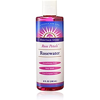 Water-Rosewater Heritage Store 8 oz Liquid