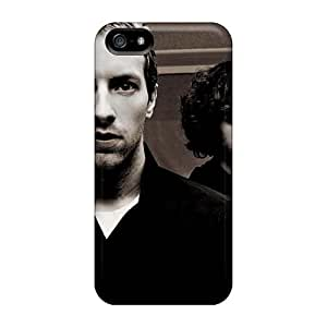 RitaSokul Iphone 5/5s Bumper Hard Phone Cover Unique Design HD Coldplay Band Image [peQ19428gTRU]