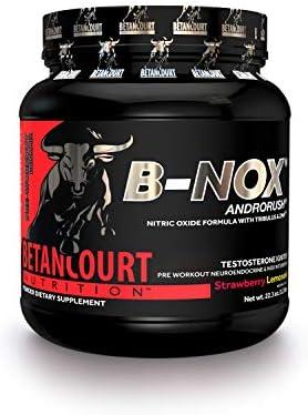 Betancourt Nutrition B-Nox Androrush (35 Serv.) Strawberry Lemonade 1er PackOhne Pfand(1 x 637 grams)
