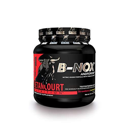 Betancourt Nutrition B-Nox Andorush Pre-Workout, Strawberry Lemonade, 22.3 Ounce (Betancourt Bullnox Androrush Pre Workout Powder Review)