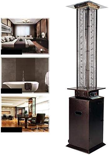 屋外のテラスのヒーター、高温抵抗ガラス管のテラスのヒーター、3レベル調整可能なステンレス鋼の商業ガスヒーター