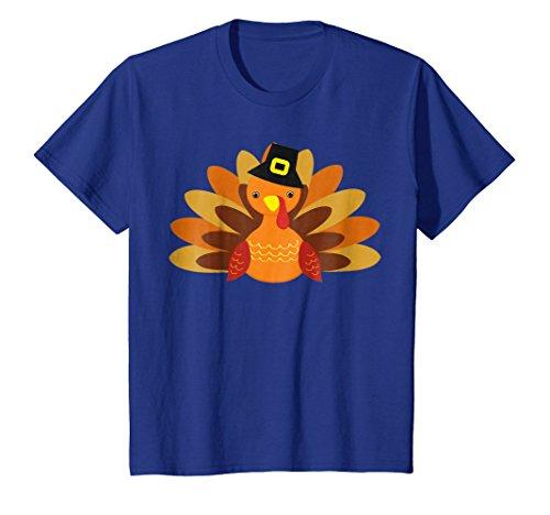 Turkey Boy Pilgrim T-Shirt Funny Thanksgiving Costume Shirt