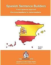 Pre-Intermediate to Intermediate - Spanish Sentence Builders