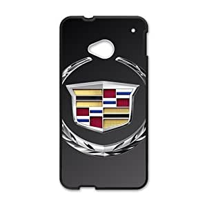 DAZHAHUI Cadillac sign fashion cell phone case for HTC One M7