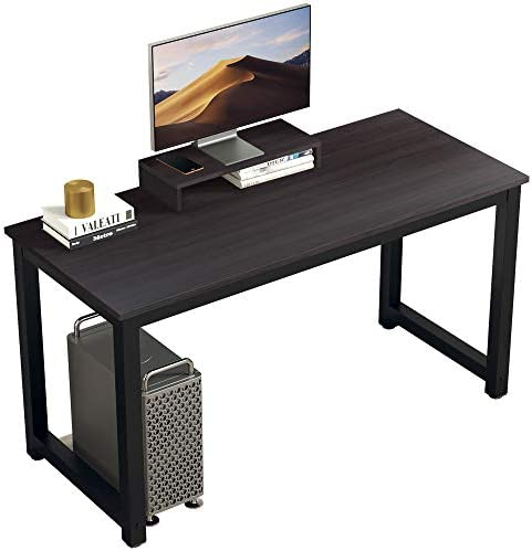 "BOJOY Computer Desk PC Laptop Study Table 47"" Sturdy Office Desk Modern Simple Style Table"
