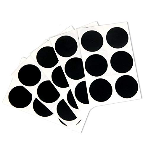 Lovelystar Bag of 6PCS Bike Tire Patch, New No Glue Needed Bicycle Bike Tire Tyre Puncture Repair Tool Kit Sticker-Patch