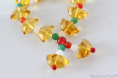 Chinese Citrine Yellow Crystal Gold Ingots Wealth Inviting