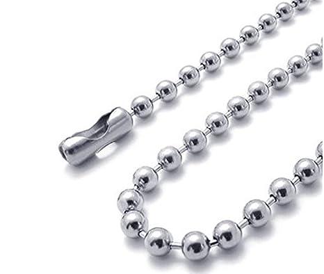 philna12 Mini Bead conector cierre bola cadena para llavero ...