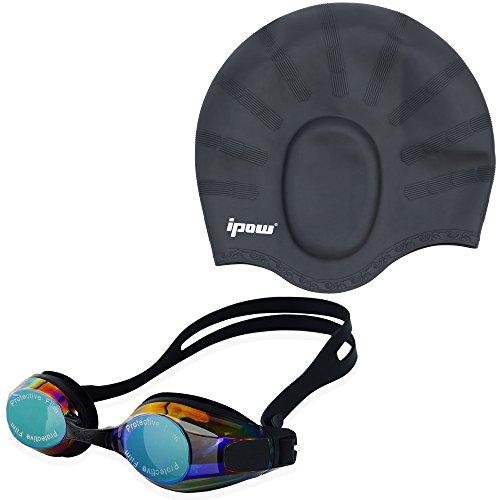 Silicone Earmuffs Anti fog Mirrored Swimming