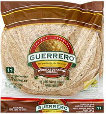 Guerrero Wheat Whole Tortillas 11ct, 16oz (2 packages)