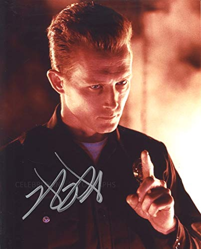 ROBERT PATRICK as T-1000 – Terminator 2 8″x10″ GENUINE AUTOGRAPH
