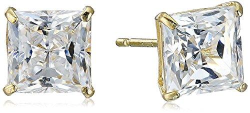 10k-yellow-gold-swarovski-zirconia-princess-cut-stud-earrings-2-cttw