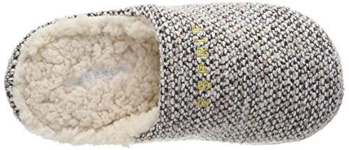 100 Blanc Esprit White Knit Pepper Mul Femme Mules Chaussons q8CqUwP