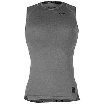 14b480c87bc0dc Nike Pro Core Sleeveless Base Layer Mens (Grey