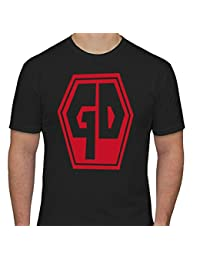 Grave Danger Coffin Mens T-Shirt