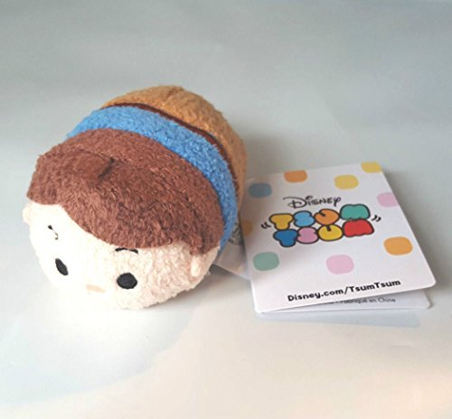 Rider Mini Figure - New Disney Store Mini 3.5 Tsum Tsum Flynn Rider Plush Toy (Tangled / Rapunzel Collection) by Disney