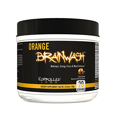 Controlled Labs, Orange BrainWash, 20 Serv (Fruit Splash)