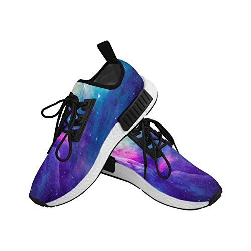 InterestPrint Women's Draco Running Comfort Sports Athletic Shoes Stellar Space 6 B(M) US by InterestPrint