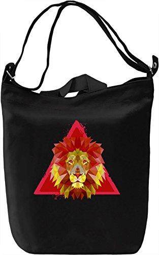 Beauty Of Lion Borsa Giornaliera Canvas Canvas Day Bag| 100% Premium Cotton Canvas| DTG Printing|