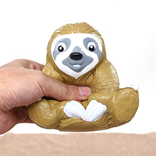 Euone  Christmas, Squeeze Dolls Cute Sloth Decompression Slow Rising Squeeze Relieve Squishies Toys from Euone