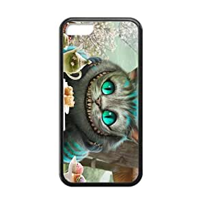 iPhone 5c Case, [Alice in wonderland] iPhone 5c Case Custom Durable Case Cover for iPhone5c TPU case (Laser Technology)