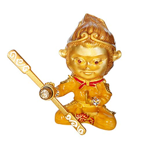 Wisdom Aromatherapy (LLDDP Game Character Decoration Alloy Qitian Dasheng Car Interior Air Outlet Perfume Decoration Sun Wukong Aromatherapy Sun Wukong Car Outlet Wind Ventilation Ornaments. (Color : Brass))