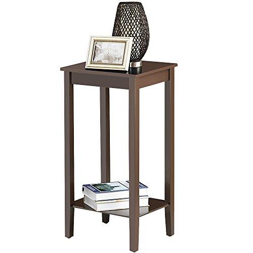 Reclaimed Wood Coffee Table Amazon: Amazon.com: Yaheetech Tall Wood End Table Sofa Side Coffee