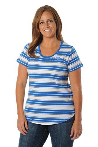(UG Apparel NCAA Kentucky Wildcats Women's Plus Size Tailgate Tee, 1X, Black/Gold )