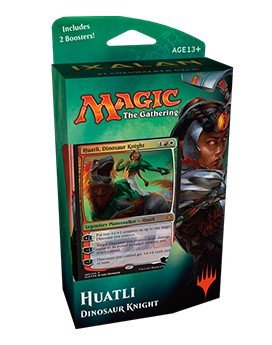 Magic The Gathering: IXALAN Planeswalker Deck – Huatli- Dinosaur Knight