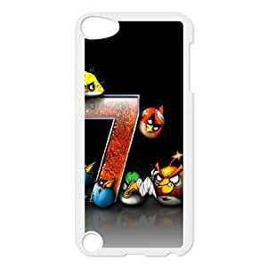 iPod Touch 5 Case White Angry Birds Game Q8Q3KD