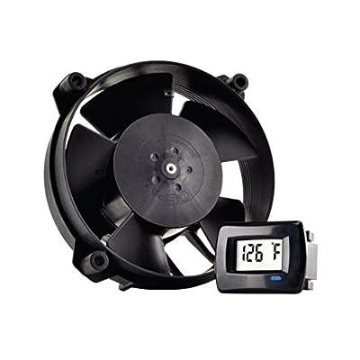 Trail Tech 732-FN4 TTV Temperature Switching Digital Radiator Fan Kit: Automotive