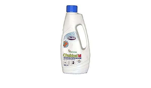 DESCALCIFICADOR CAFETERA 500ML CHUBBY: Amazon.es: Bricolaje y ...