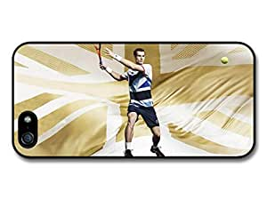 Andy Murray Gold Great Britain Tennis Player Case For HTC One M7 Cover