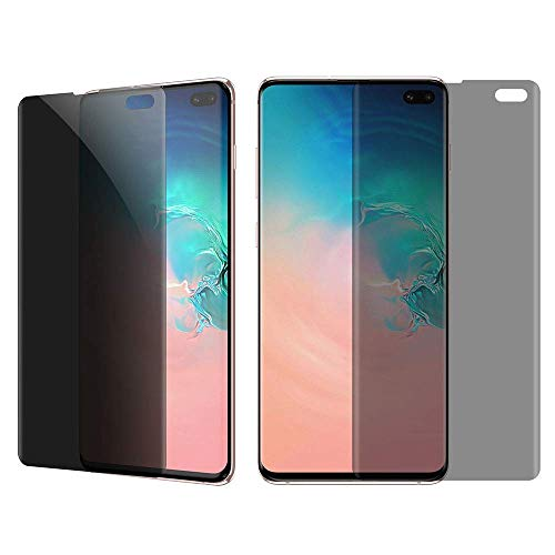 [2-Pack] Elecwill Anti Spy Privacy Screen Protector for Samsung Galaxy S8 Plus 6.2 inch, Full Adhesive HD Soft TPU Material Film (NOT Tempered Glass) -Smooth Touch/Case&Fingerprint Scanner Compatible