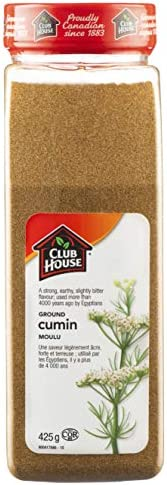 Club House, Quality Natural Herbs & Spices, Ground Cumin,