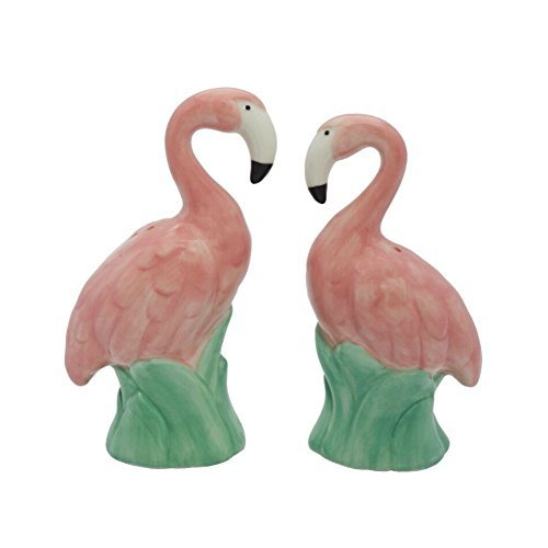 (Flamingo Salt and Pepper Shaker Set)