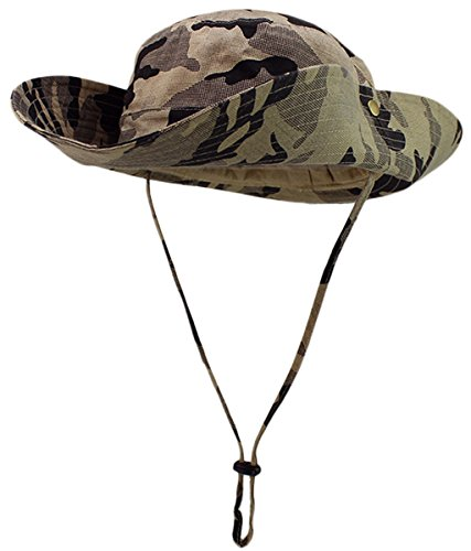 Used, Panegy Big-Brimmed Boonie Hats Cowboy Sun Block Mesh for sale  Delivered anywhere in USA
