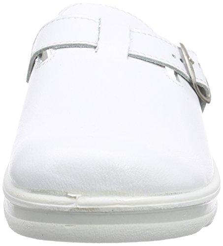 Weiss Blanc Non Homme 265 Pantoufles Doublées Village ROMIKA nWRqHZw4x
