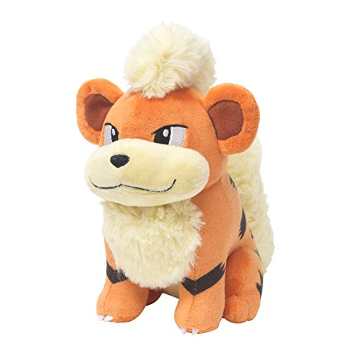 - Pokemon Center Original Plush Stuffed Doll Growlithe