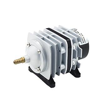 Takestop® Ventilador Compresor De Aluminio acq-001 25L/min 20 W con peine a deviazioni flujo aire para acuario agua dulce Salada: Amazon.es: Electrónica