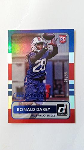 2015 DONRUSS PRESS PROOFS BLUE #199 RONALD DARBY#28/99