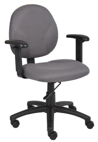 Gray Fabric Task Chair