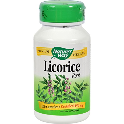 Nature's Way Licorice Root - 100 Capsules ()